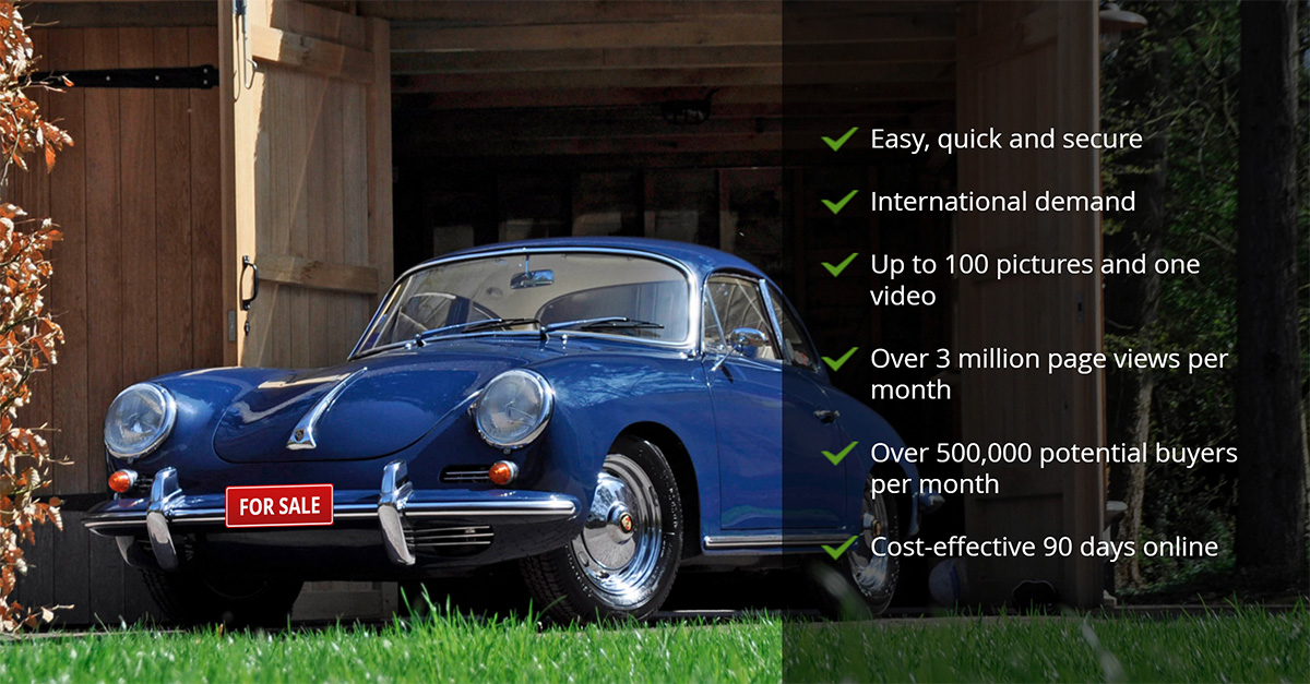 Sell Your Classic Car with Classic Trader | www.classic-trader.com