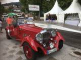Lagonda 4,5 Liter LG 45 Rapide - At the winner´s honor