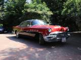 Buick Roadmaster - Buick Roadmaster '56 Riviera Sedan 4-Door in Seminole Red/Carlsbad Black