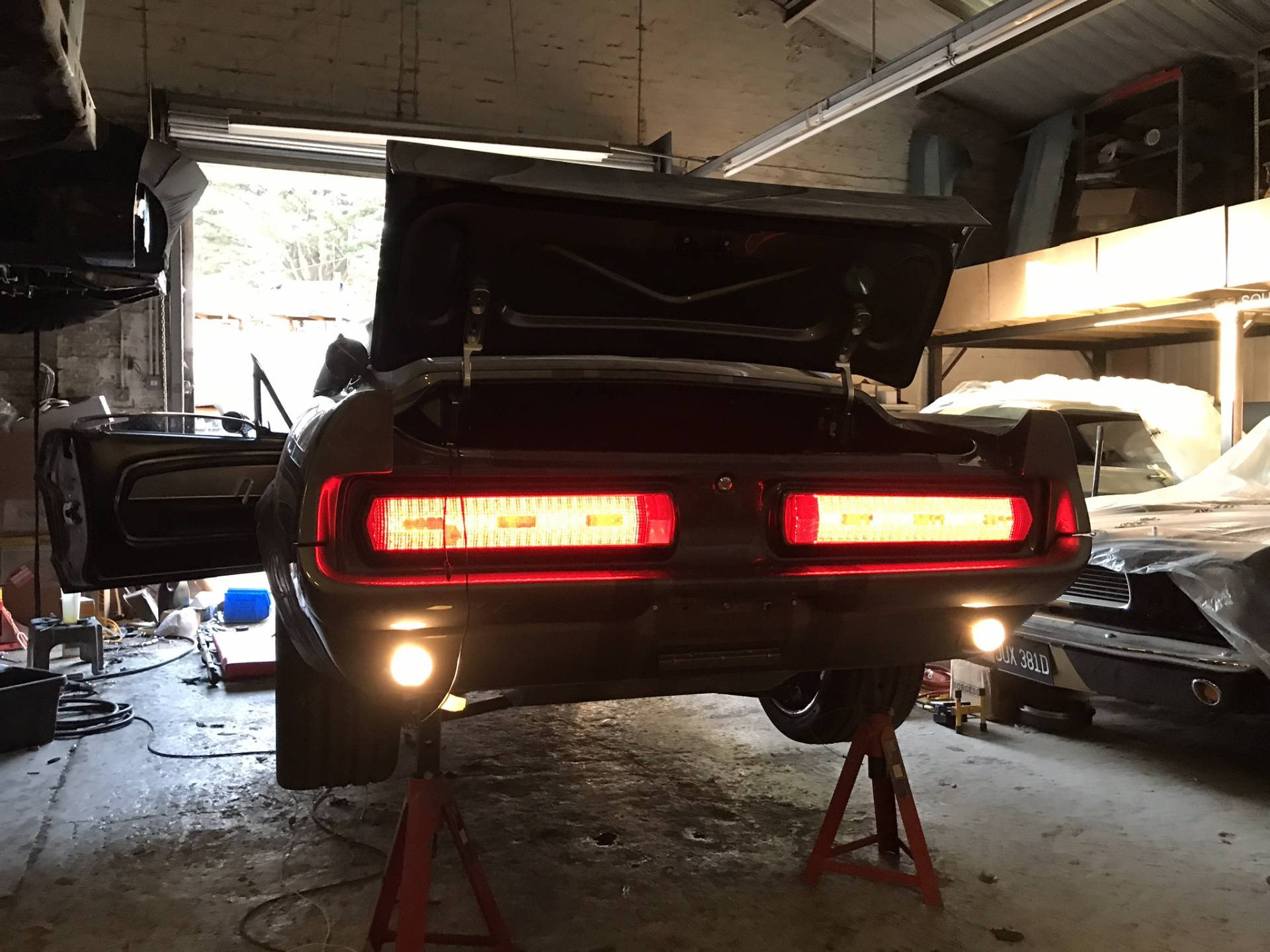 Ford Shelby GT 500 - LED taillights,