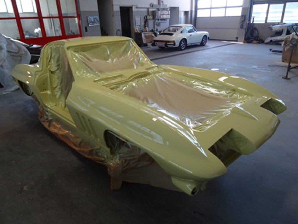 Chevrolet Corvette Sting Ray - Restauration 2015
