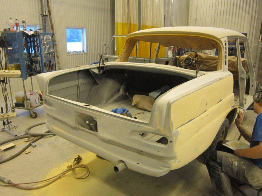 Mercedes-Benz 200 - Restauration 2012