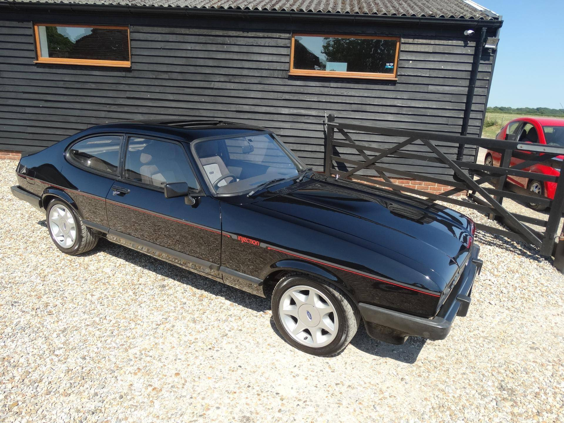 for sale ford capri 2 8i 1984 offered for gbp 16 450. Black Bedroom Furniture Sets. Home Design Ideas