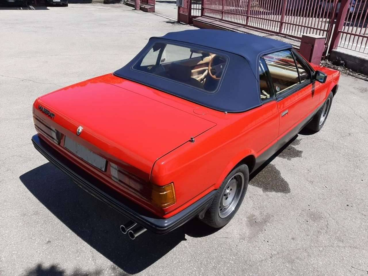For Sale: Maserati Biturbo Spyder (1985) offered for AUD 41,388