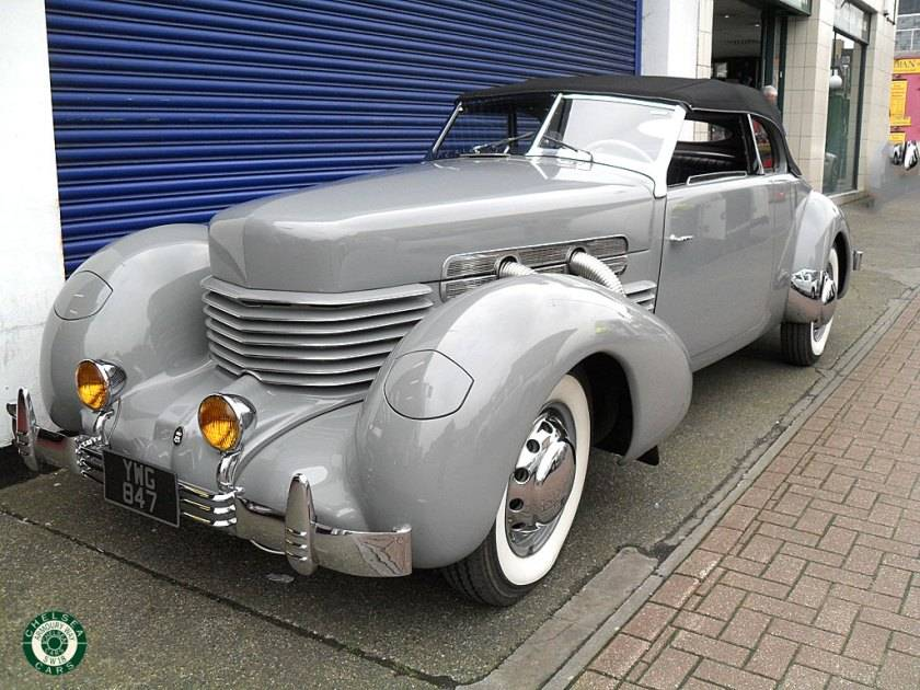 Cord 812 Phaeton (1937) for Sale - Classic Trader
