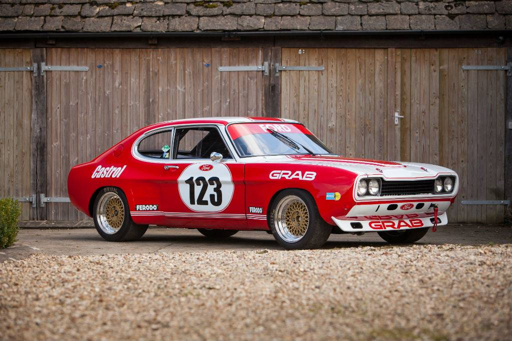 Ford Capri RS 2600 - Ford Capri RS2600 Group 2 For Sale at William I'Anson Ltd