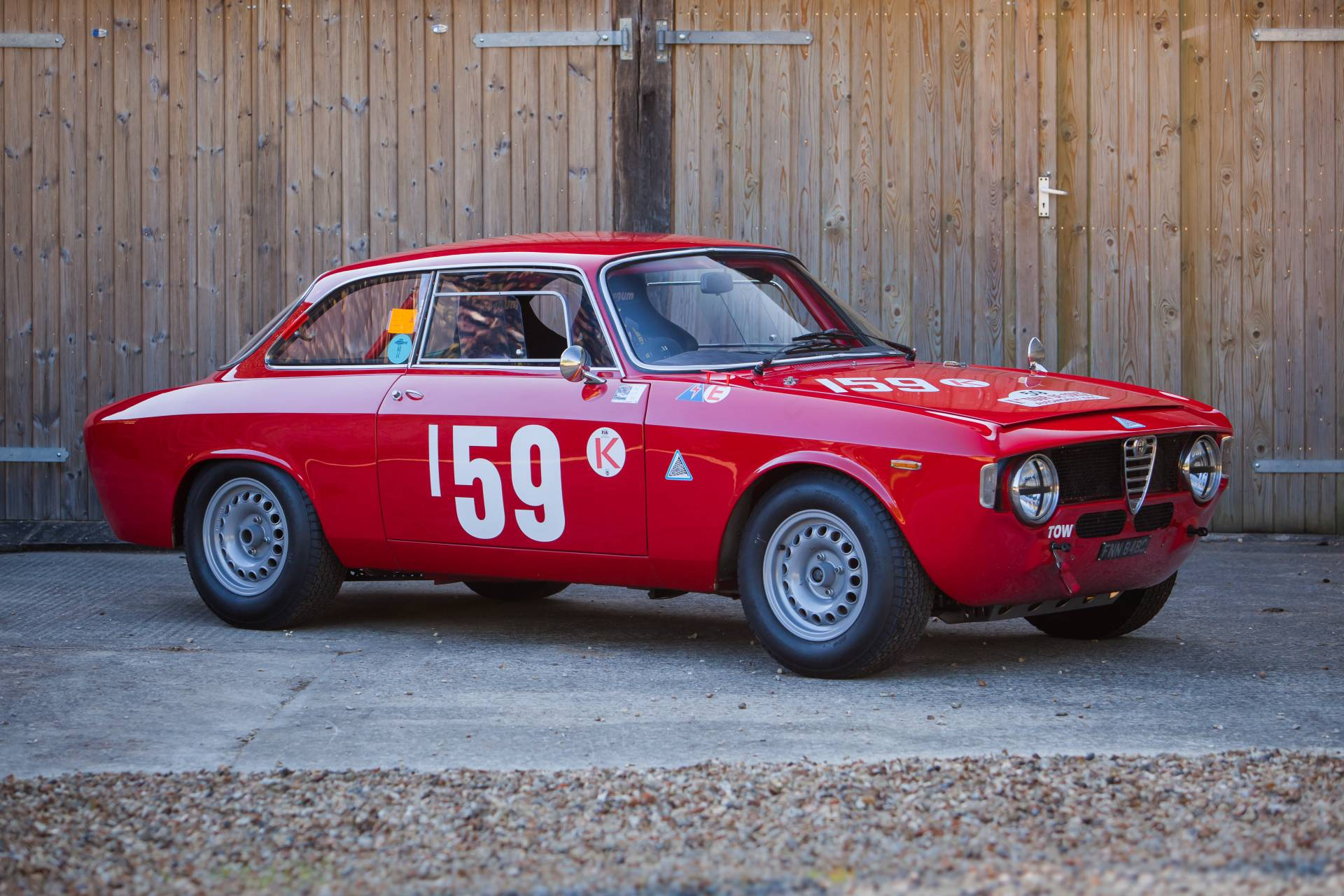 for sale alfa romeo giulia sprint gta racing 1965 offered for gbp 135 000. Black Bedroom Furniture Sets. Home Design Ideas