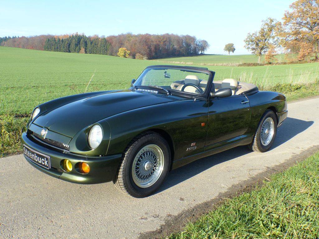 MG RV8 - MG RV 8 Roadster Linkslenker 1995