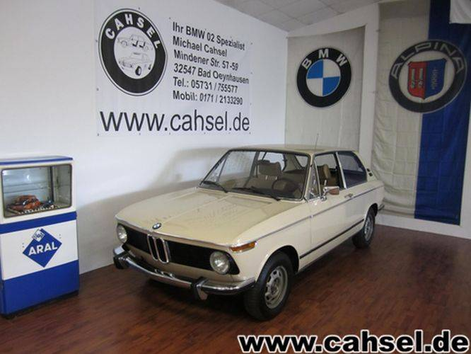 bmw 1802 touring 1974 kaufen classic trader. Black Bedroom Furniture Sets. Home Design Ideas