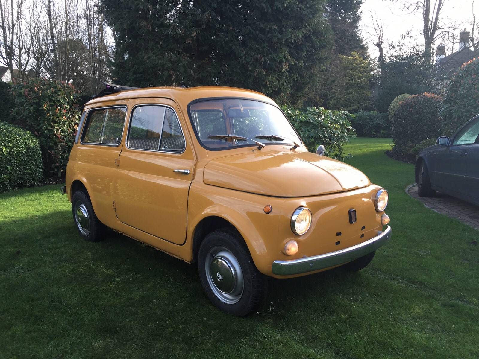 for sale fiat 500 giardiniera 1972 offered for gbp 7 500. Black Bedroom Furniture Sets. Home Design Ideas