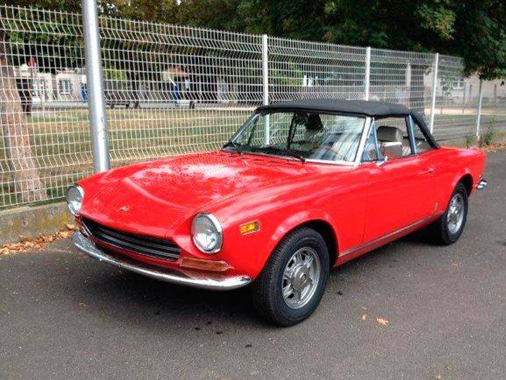 fiat 124 spider bs 1972 for sale classic trader. Black Bedroom Furniture Sets. Home Design Ideas