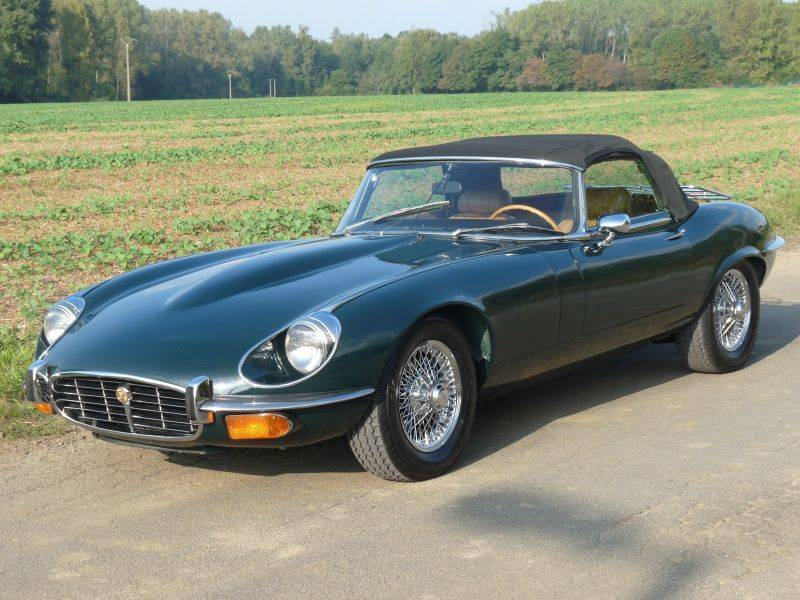 Jaguar E-Type V12 (1972) for Sale - Classic Trader