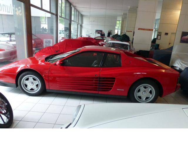 ferrari testarossa 1987 f r eur kaufen. Black Bedroom Furniture Sets. Home Design Ideas
