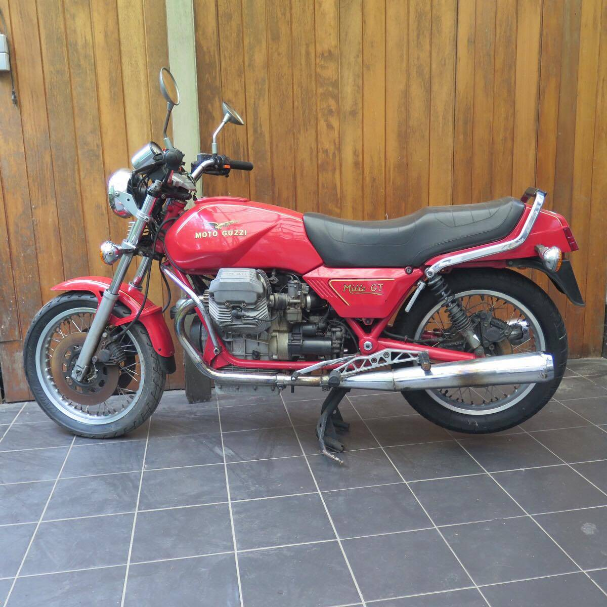 for sale moto guzzi mille gt 1993 offered for aud 16 650. Black Bedroom Furniture Sets. Home Design Ideas