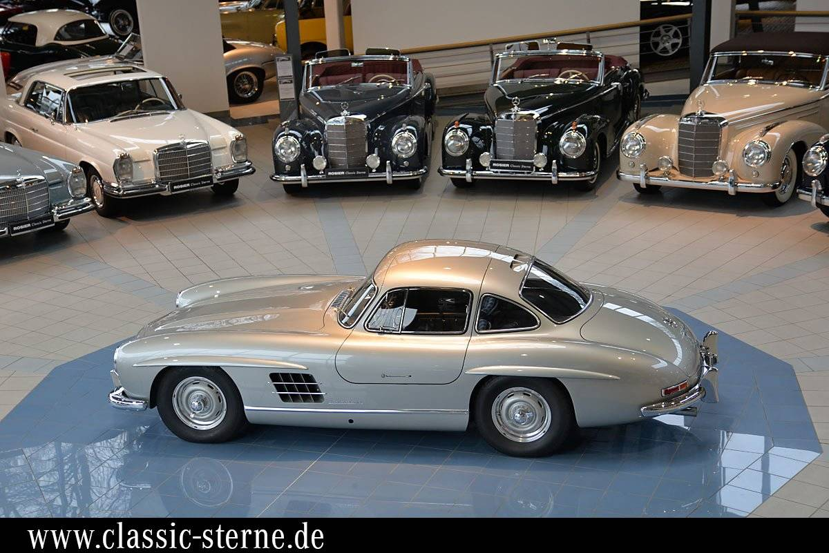 mercedes benz 300 sl fl gelt rer 1955 f r chf 1 39 707. Black Bedroom Furniture Sets. Home Design Ideas