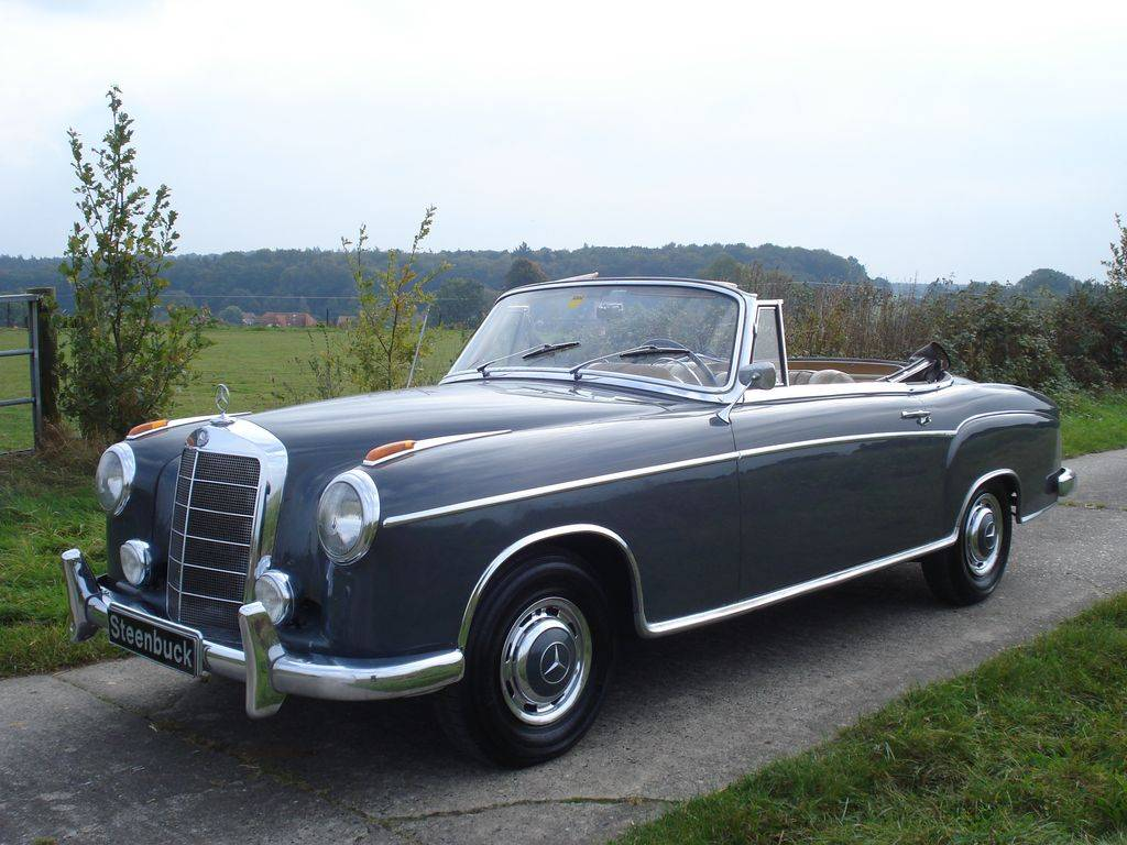 Mercedes-Benz 220 SE Cabriolet - Mercedes-Benz 220 SE Covertible 1960