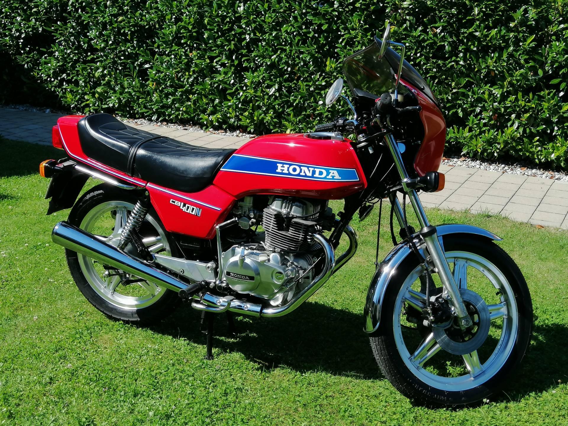 Buy 1980 Honda CB 400 Hawk. Great condition. on 2040-motos
