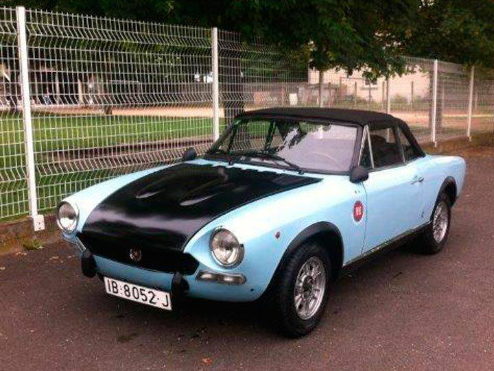 fiat 124 spider bs 1971 en vente classic trader. Black Bedroom Furniture Sets. Home Design Ideas