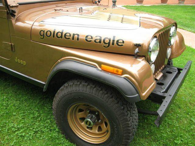 jeep cj 7 golden eagle 1979 in vendita a eur. Black Bedroom Furniture Sets. Home Design Ideas