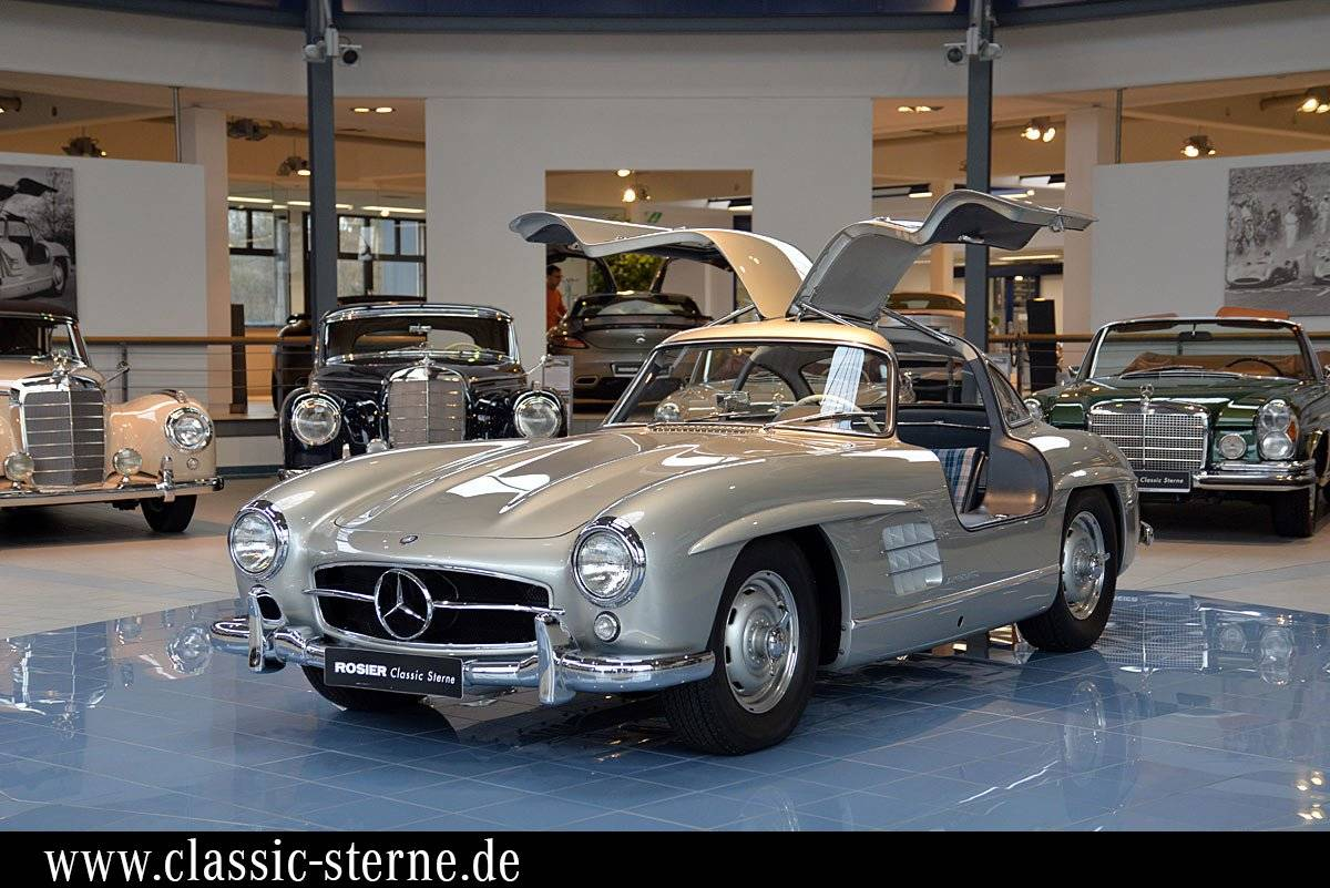 mercedes benz 300 sl fl gelt rer 1955 kaufen classic. Black Bedroom Furniture Sets. Home Design Ideas