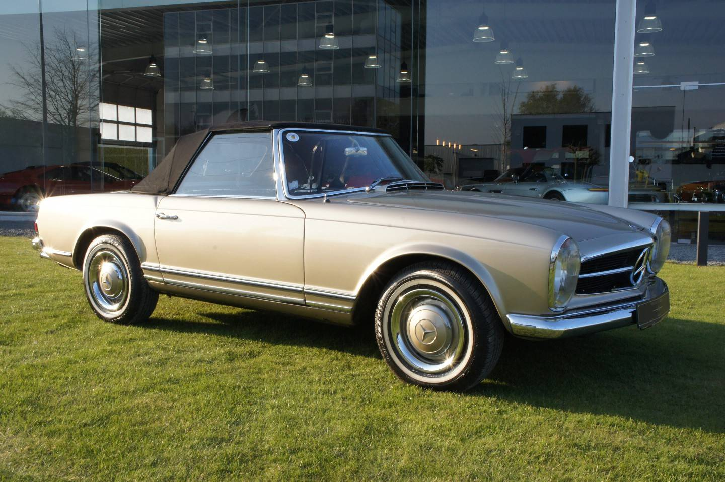 For sale mercedes benz 230 sl 1966 offered for gbp 66 780 for Mercedes benz 230 for sale