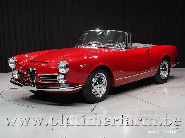 for sale alfa romeo 2600 spider 1966 offered for gbp. Black Bedroom Furniture Sets. Home Design Ideas