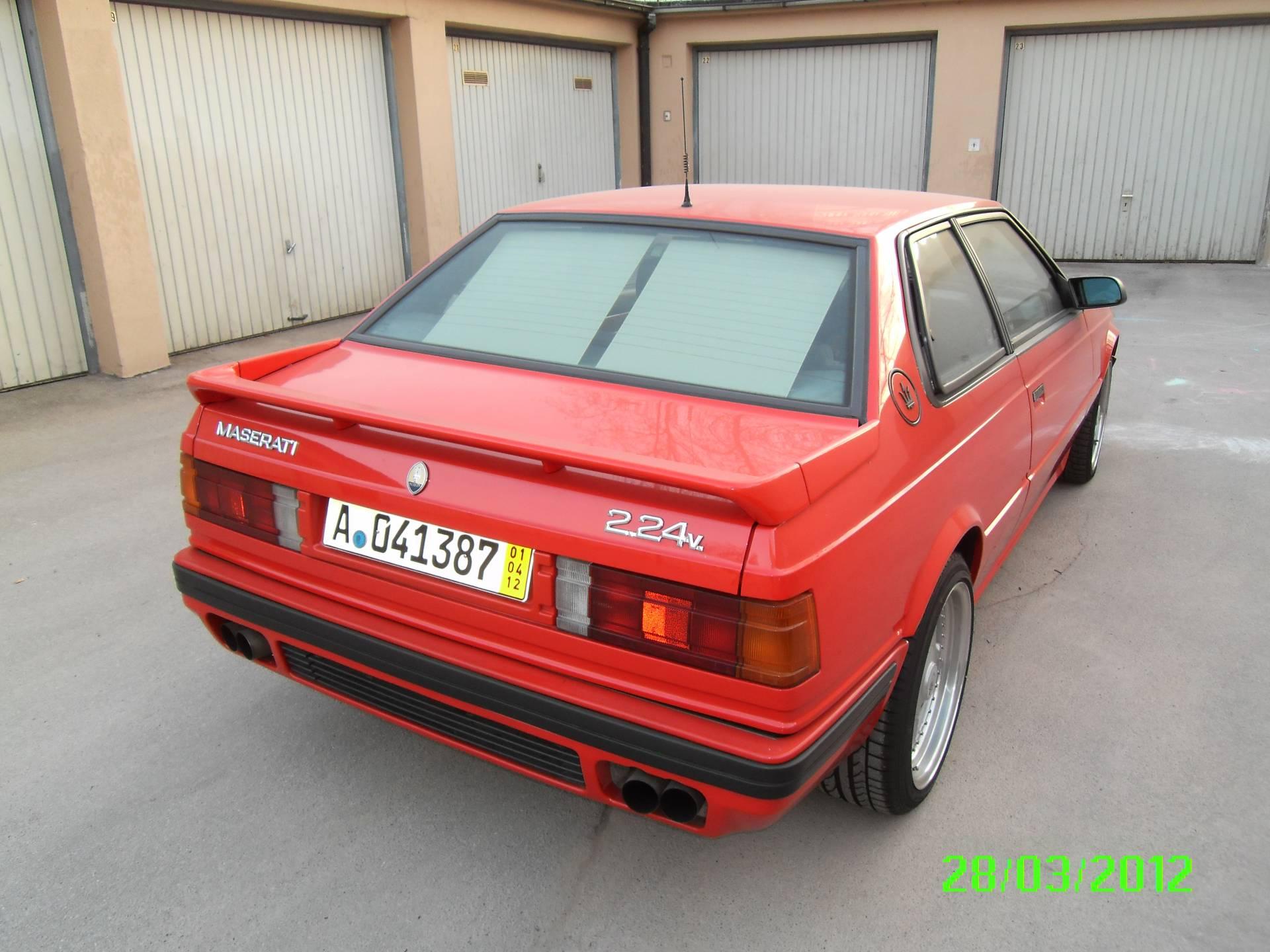 Maserati Biturbo 2.24V (1994) für 23.500 EUR kaufen