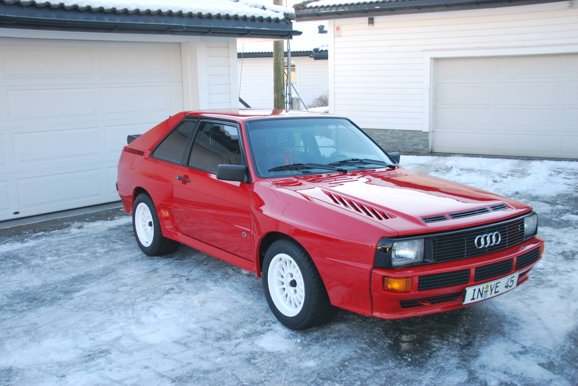audi sport quattro 1985 for sale classic trader. Black Bedroom Furniture Sets. Home Design Ideas