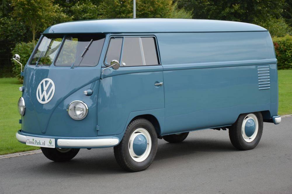 For sale volkswagen t1 panel van 1958 offered for usd for Furgone anni 70 volkswagen