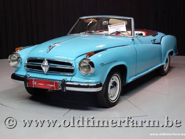 borgward isabella coup cabriolet 1960 f r eur kaufen. Black Bedroom Furniture Sets. Home Design Ideas