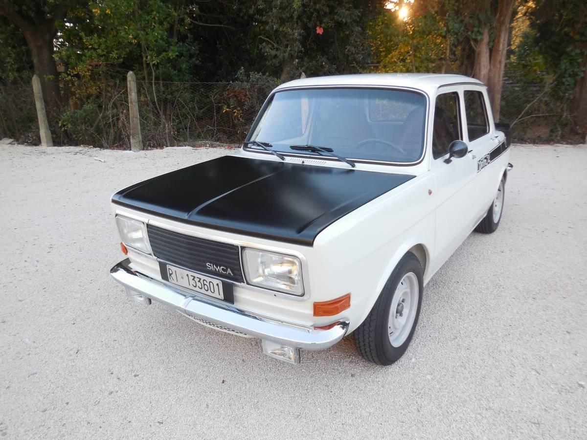 simca 1000 rallye 2 1977 in vendita classic trader. Black Bedroom Furniture Sets. Home Design Ideas