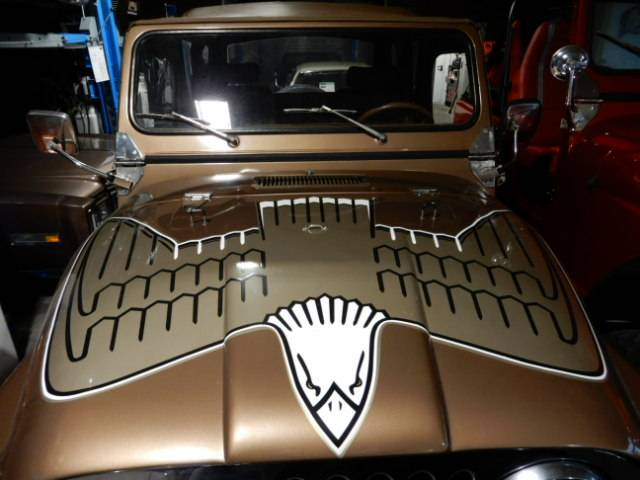 "Jeep CJ-7 ""Golden Eagle"" - Ein echter ""Golden Eagle"" im Originalzustand"