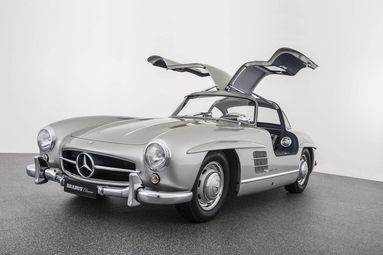 mercedes benz 300 sl fl gelt rer 1955 f r. Black Bedroom Furniture Sets. Home Design Ideas