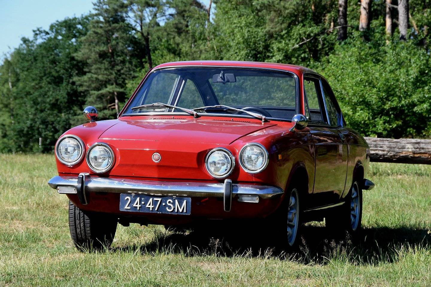 For sale fiat 850 sport coupe 1972 offered for gbp 6 110 - Fiat 850 sport coupe for sale ...