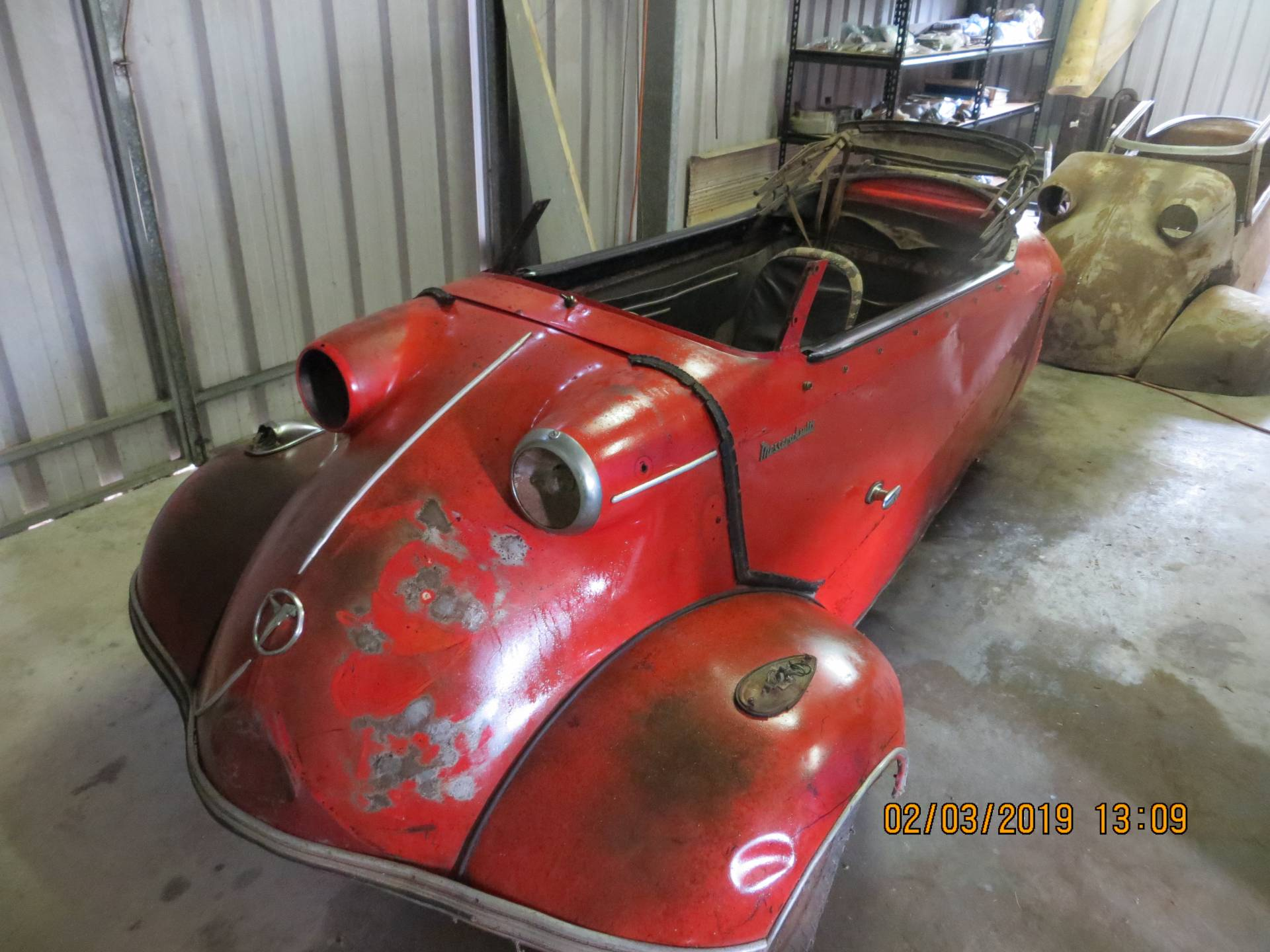 Messerschmitt / FMR KR 201 - KR201 & KR200 For restoration have never been restored
