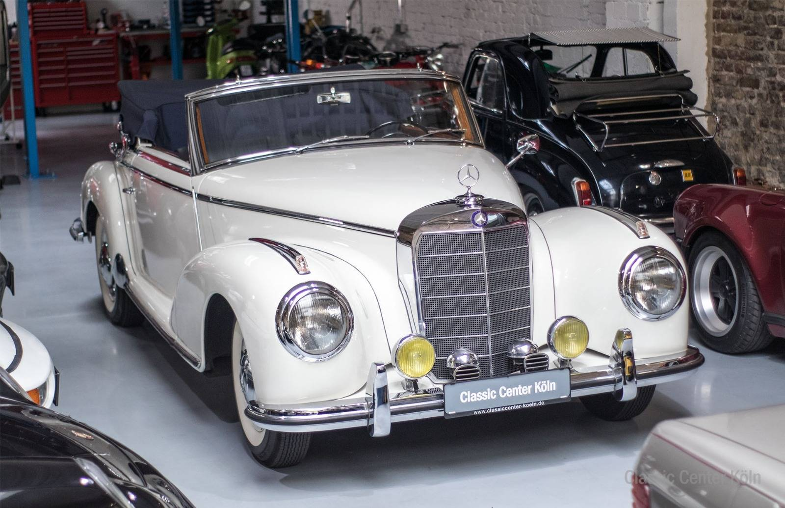 mercedes benz 300 s cabriolet a 1953 f r eur kaufen. Black Bedroom Furniture Sets. Home Design Ideas