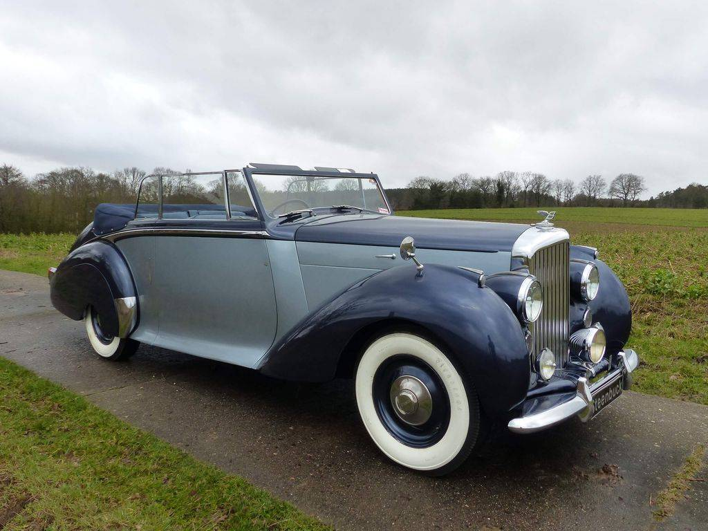 Bentley Mark VI Park Ward - Bentley MK VI Cabriolet Park Ward (1949)