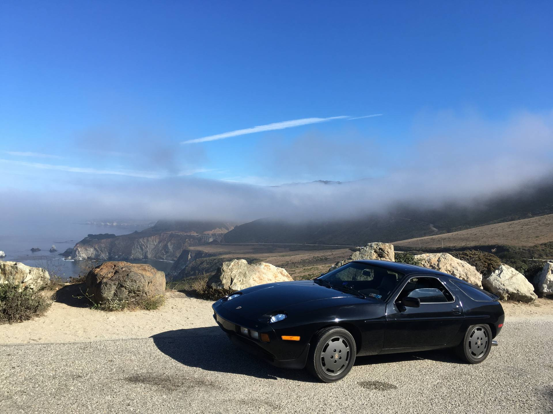 Porsche 928 S - Highway One, California