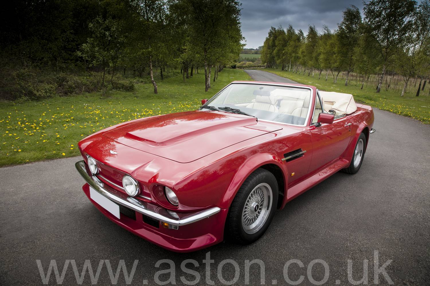 for sale aston martin v8 volante 1988 offered for gbp 399 950. Black Bedroom Furniture Sets. Home Design Ideas
