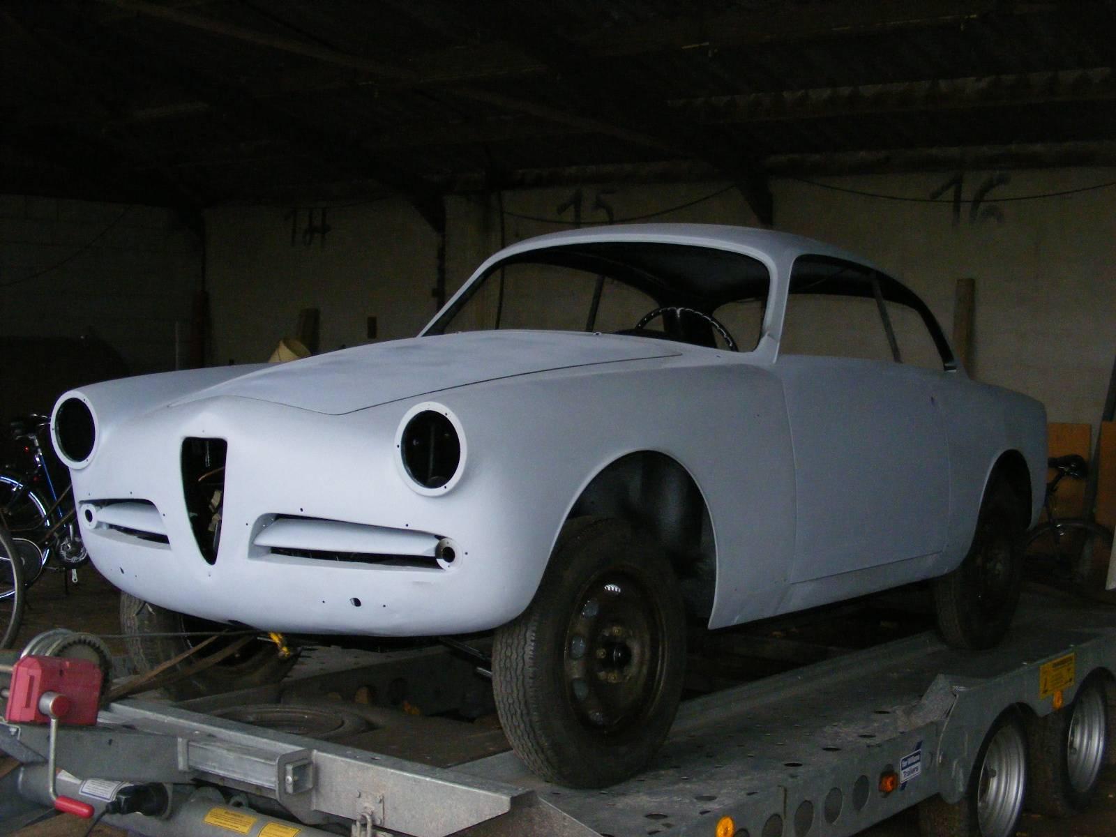 alfa romeo giulietta sprint 1957 kaufen classic trader. Black Bedroom Furniture Sets. Home Design Ideas