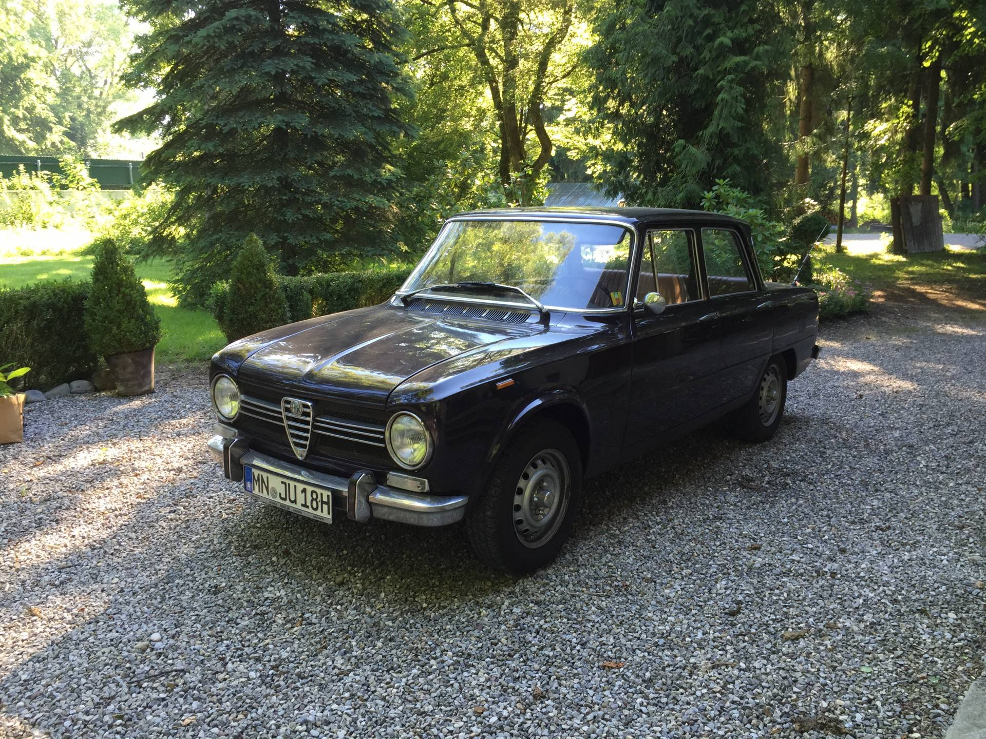 alfa romeo giulia 1300 super 1971 f r eur kaufen. Black Bedroom Furniture Sets. Home Design Ideas