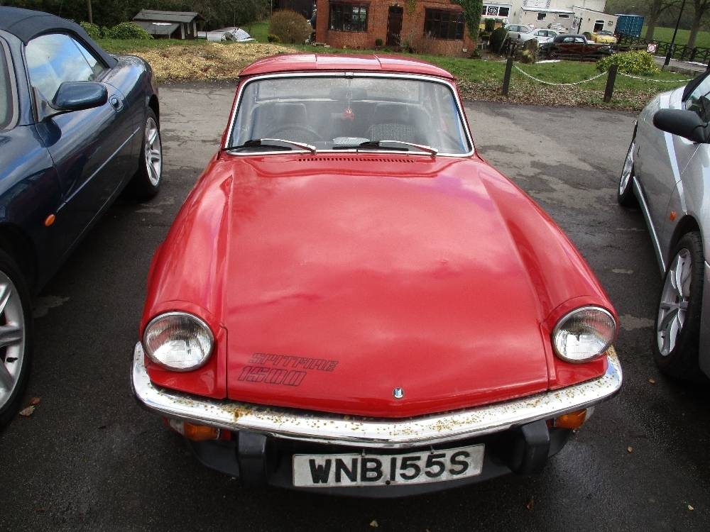 For Sale: Triumph Spitfire 1500 (1978) offered for GBP 5,995