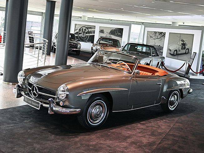 mercedes benz 190 sl 1956 f r eur kaufen. Black Bedroom Furniture Sets. Home Design Ideas