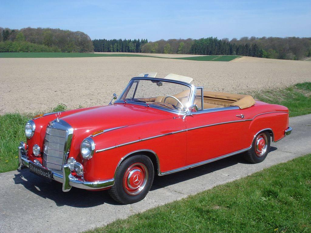 mercedes benz 220 se cabriolet 1960 kaufen classic trader. Black Bedroom Furniture Sets. Home Design Ideas