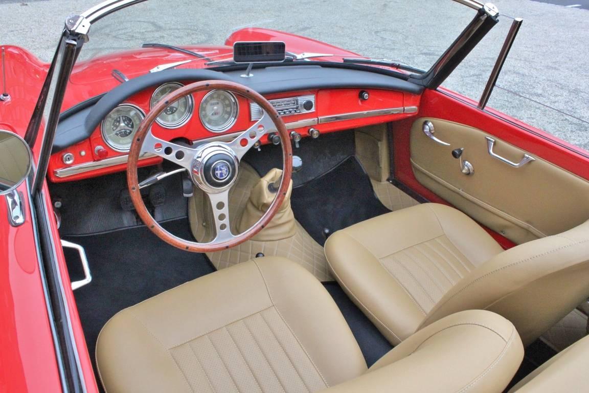 Alfa Romeo Giulietta Spider 1961 Fr 79900 Eur Kaufen Heck