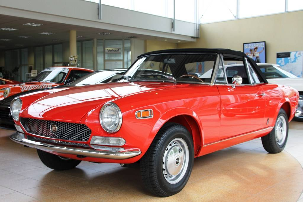 fiat 124 spider as 1970 for sale classic trader. Black Bedroom Furniture Sets. Home Design Ideas