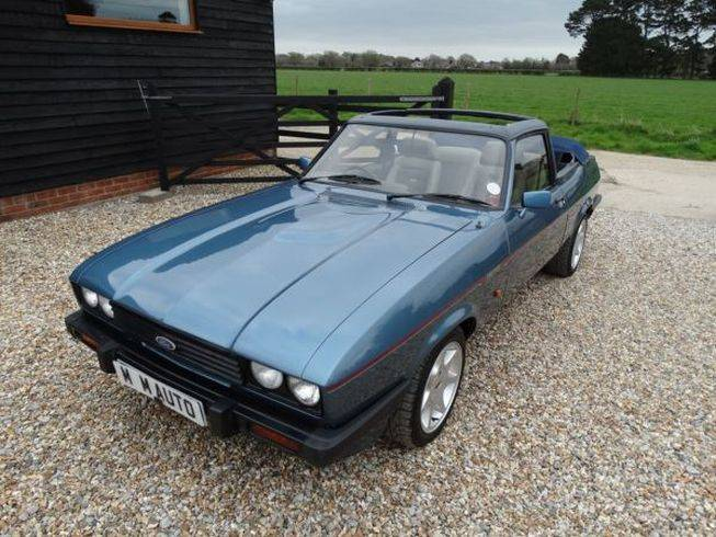 for sale ford capri 2 8i 1987 offered for gbp 6 750. Black Bedroom Furniture Sets. Home Design Ideas