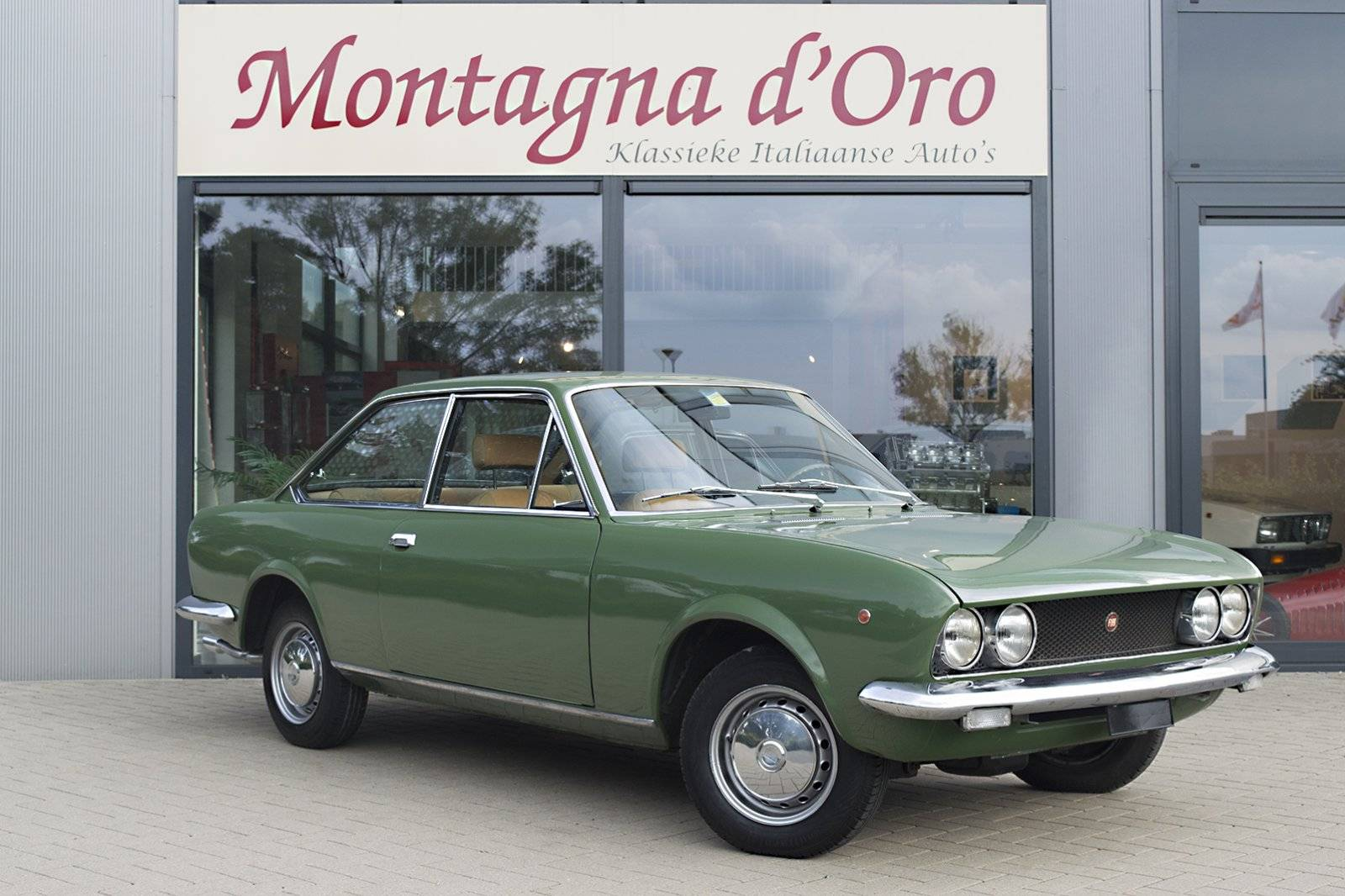 screen fiat at pm shot classic sale cars sport coupe italian for