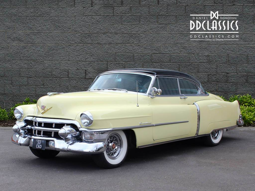 cadillac coupe deville 1953 for sale classic trader. Black Bedroom Furniture Sets. Home Design Ideas