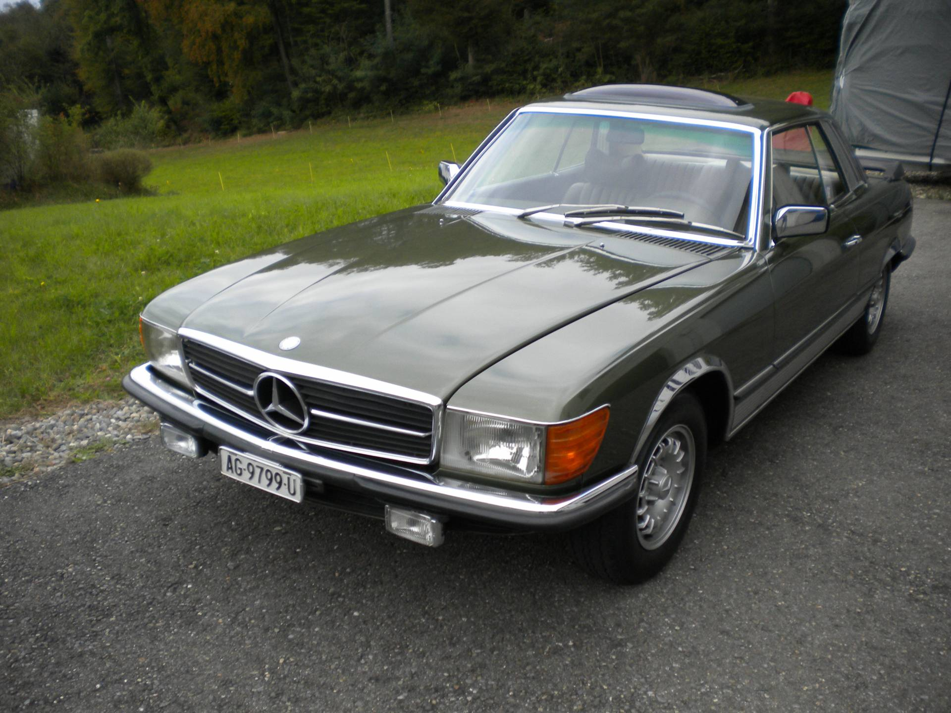 for sale mercedes benz 280 slc 1977 offered for gbp 11 875. Black Bedroom Furniture Sets. Home Design Ideas